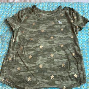 Abercrombie kids girls t-shirt  size 9/10